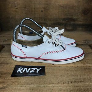Keds Champion Pennant Baseball Leather Sneakers